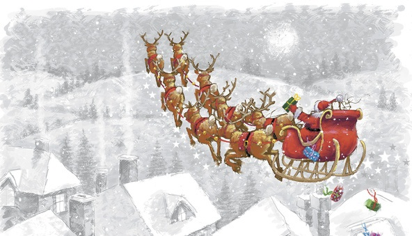 рождественский олень