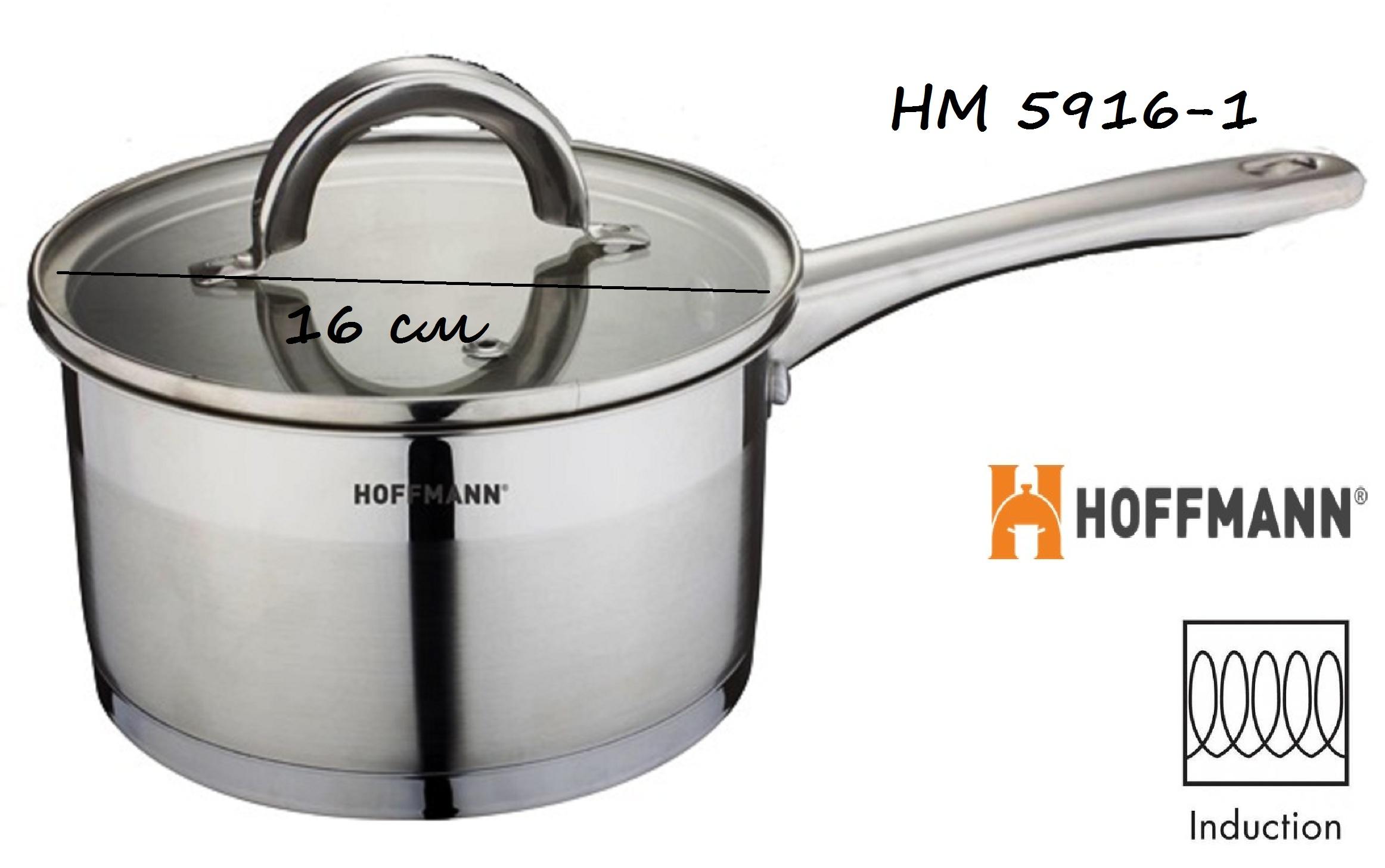 Ковш 1,9 л HOFFMANN HM 5916-1