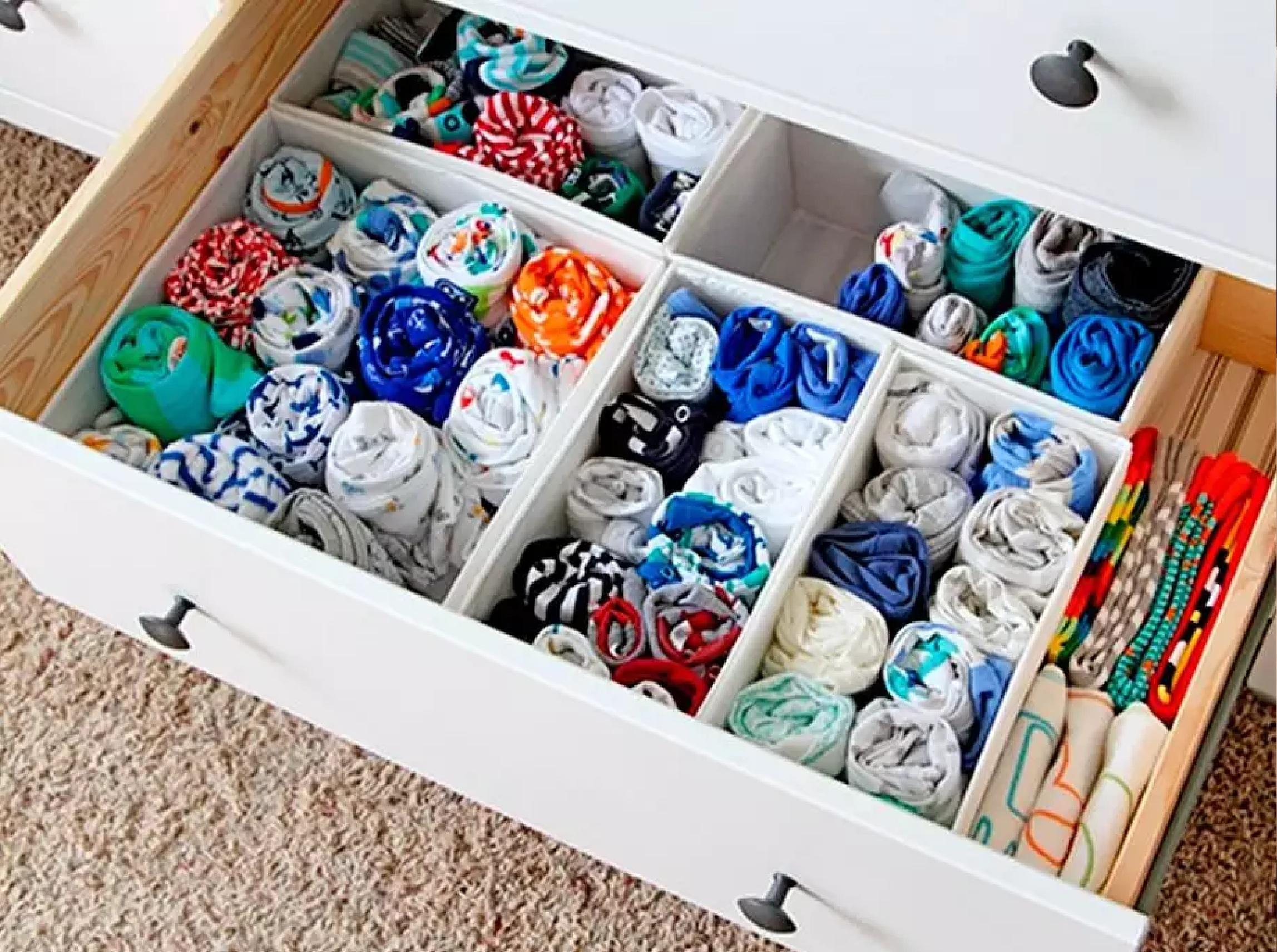 Prima House Набор раскладных коробок для хранения вещей 4 шт