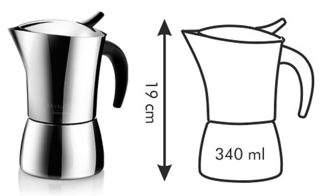 кофеварка TESCOMA MONTE CARLO 6 кружки 647106