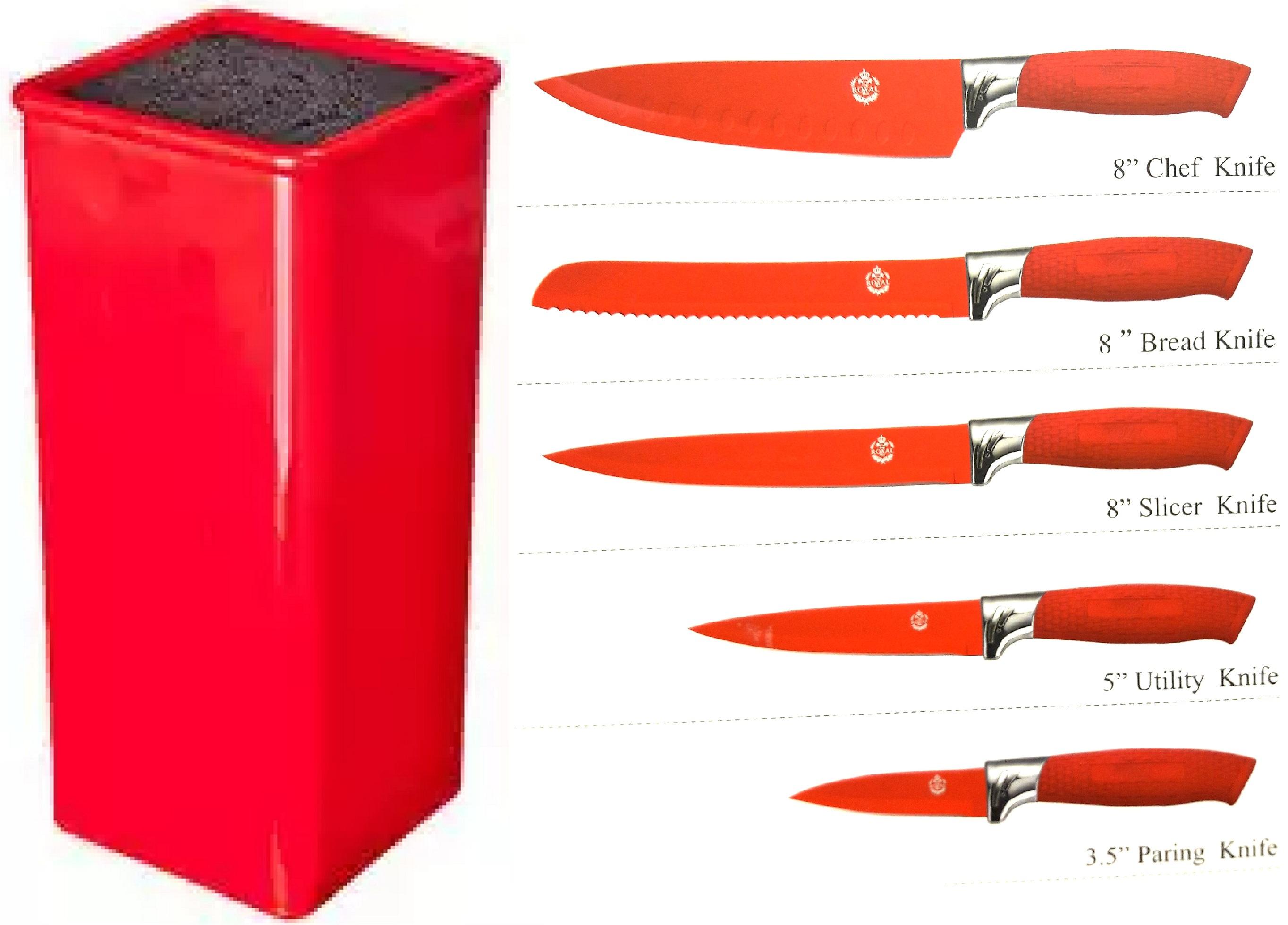 Подставка для ножей с наполнителем