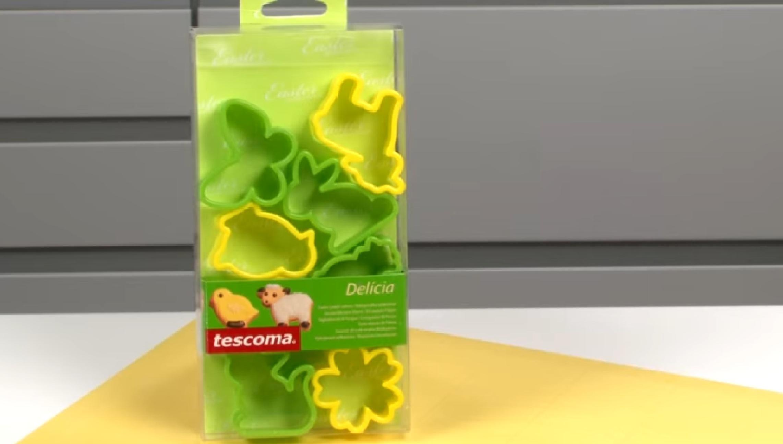 Формочки для пасхального печенья DELICIA 8 шт  630903