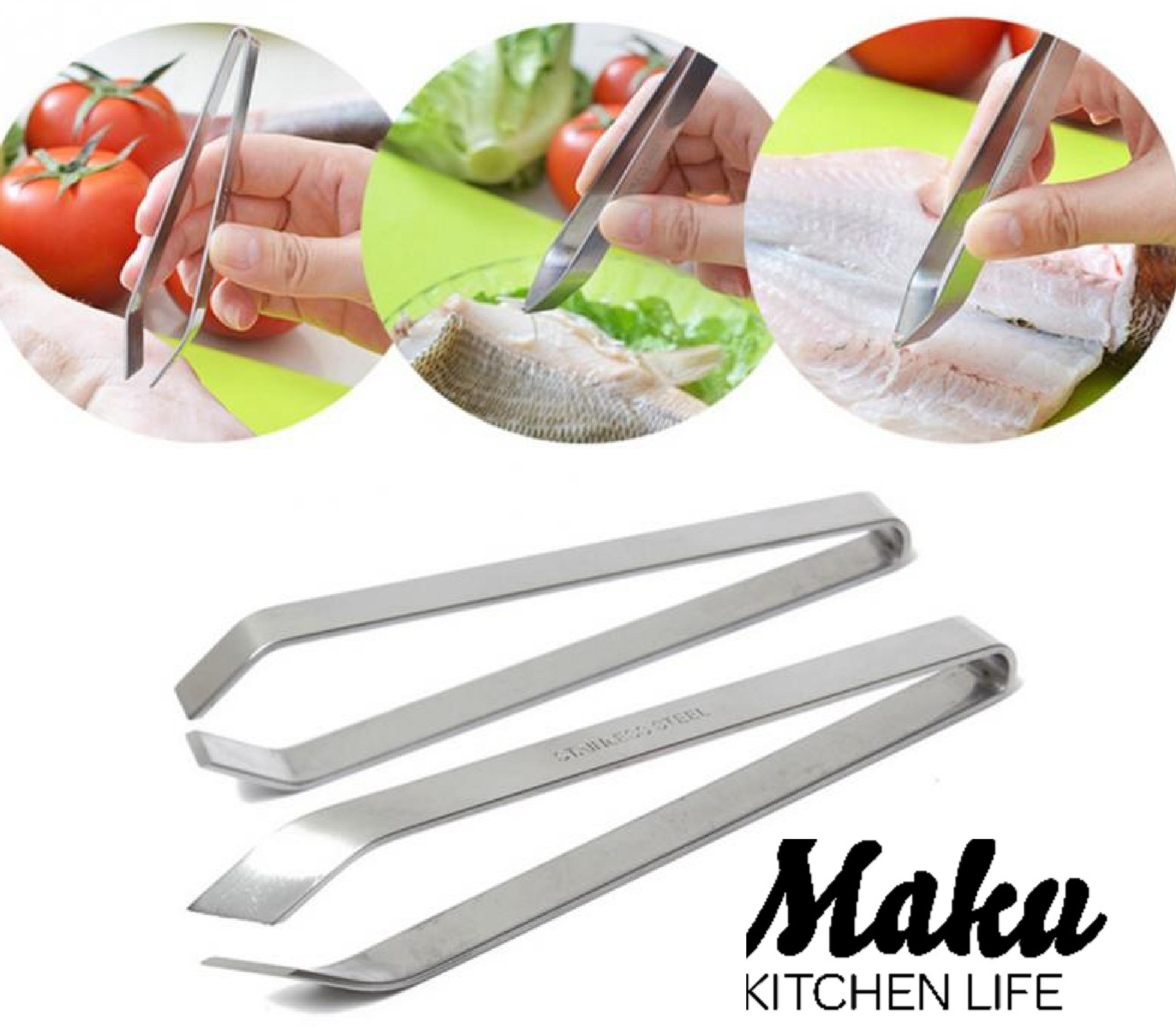 Щипцы (пинцет) для удаления костей рыбы Maku 12 см
