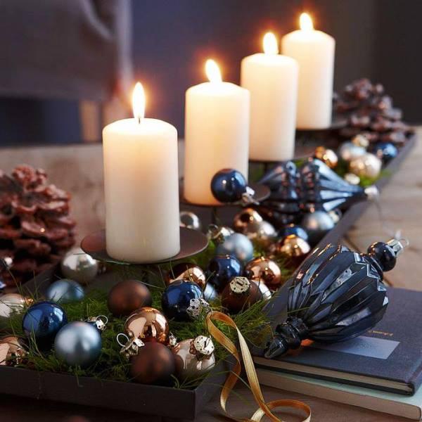 новогодние свечи 2016 своими руками фото