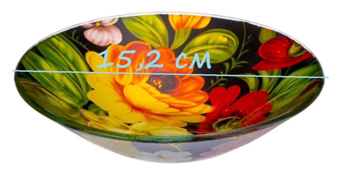 Салатник стекло 152 мм 830-052 жостово