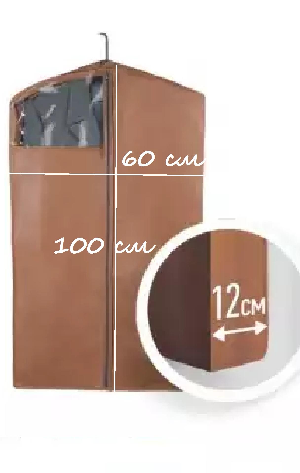 Чехол для пуховиков и коротких дубленок 100*60*12 П-09