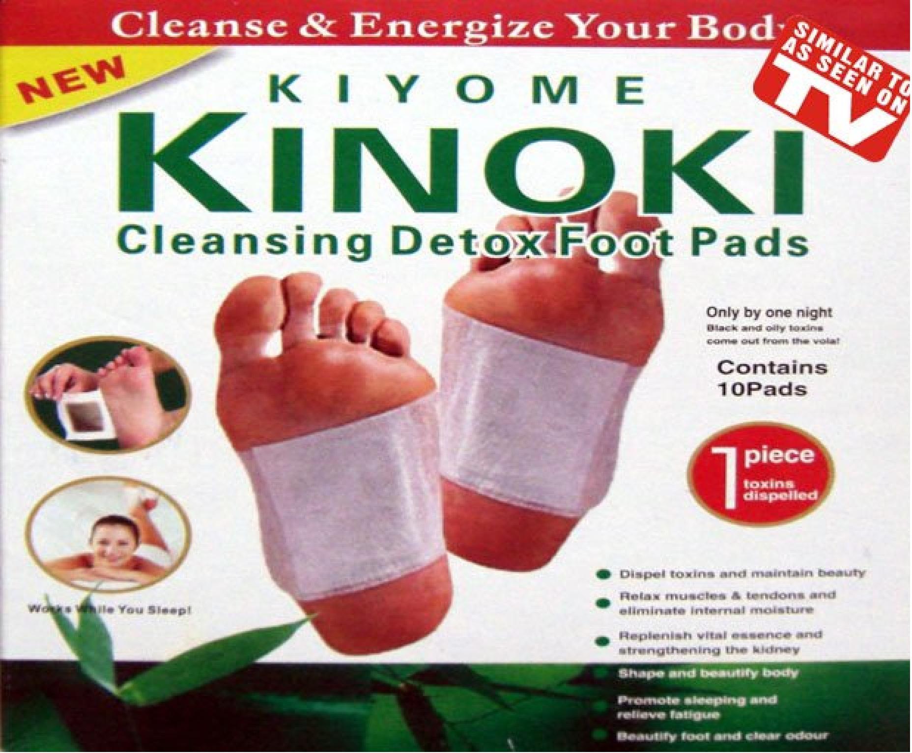 Kinoki Detox 10 шт
