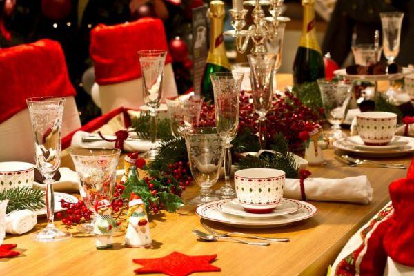украшение новогоднего стола 2016 фото идеи