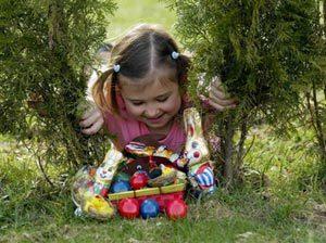поиски яичных сокровищ