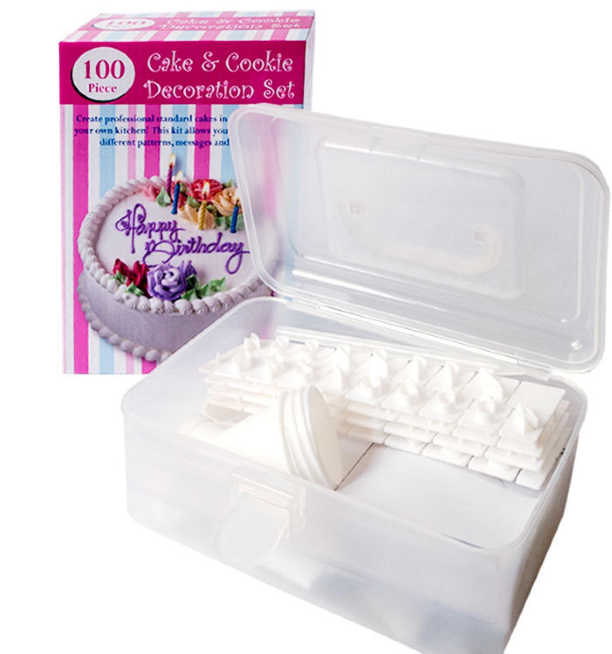 Набор для декорирования тортов 100 Piece Cake Decoration Kit