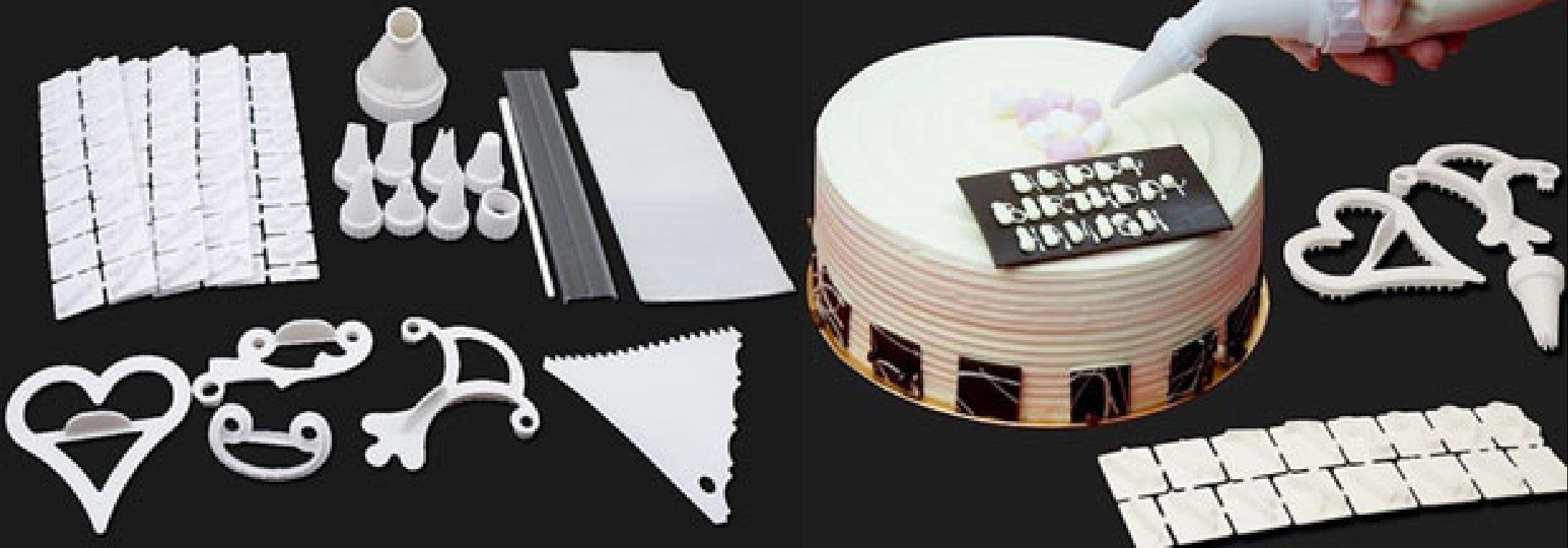 набор для декорирования тортов 100 предметов