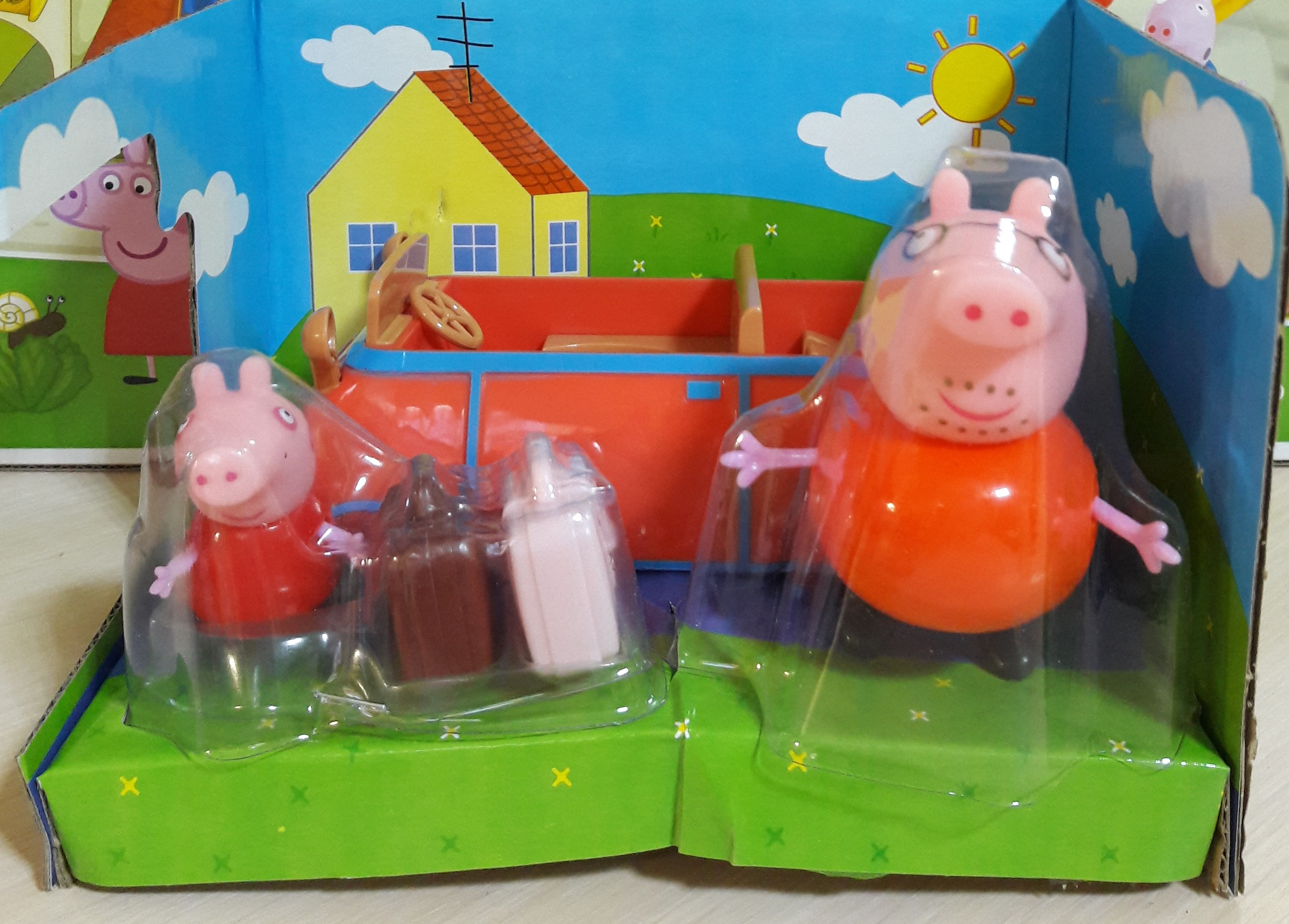 Машинка свинки Пеппа LQ917A