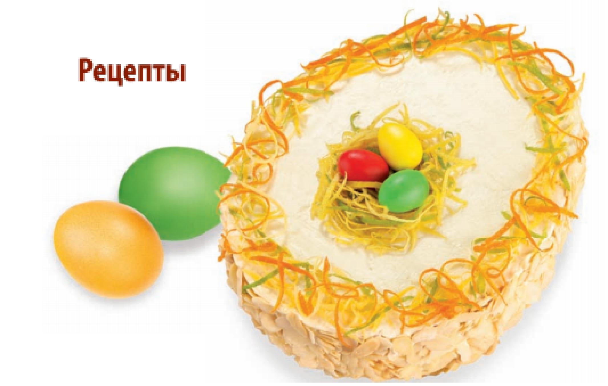 Рецепт Тертое Пасхальное яйцо с орехами