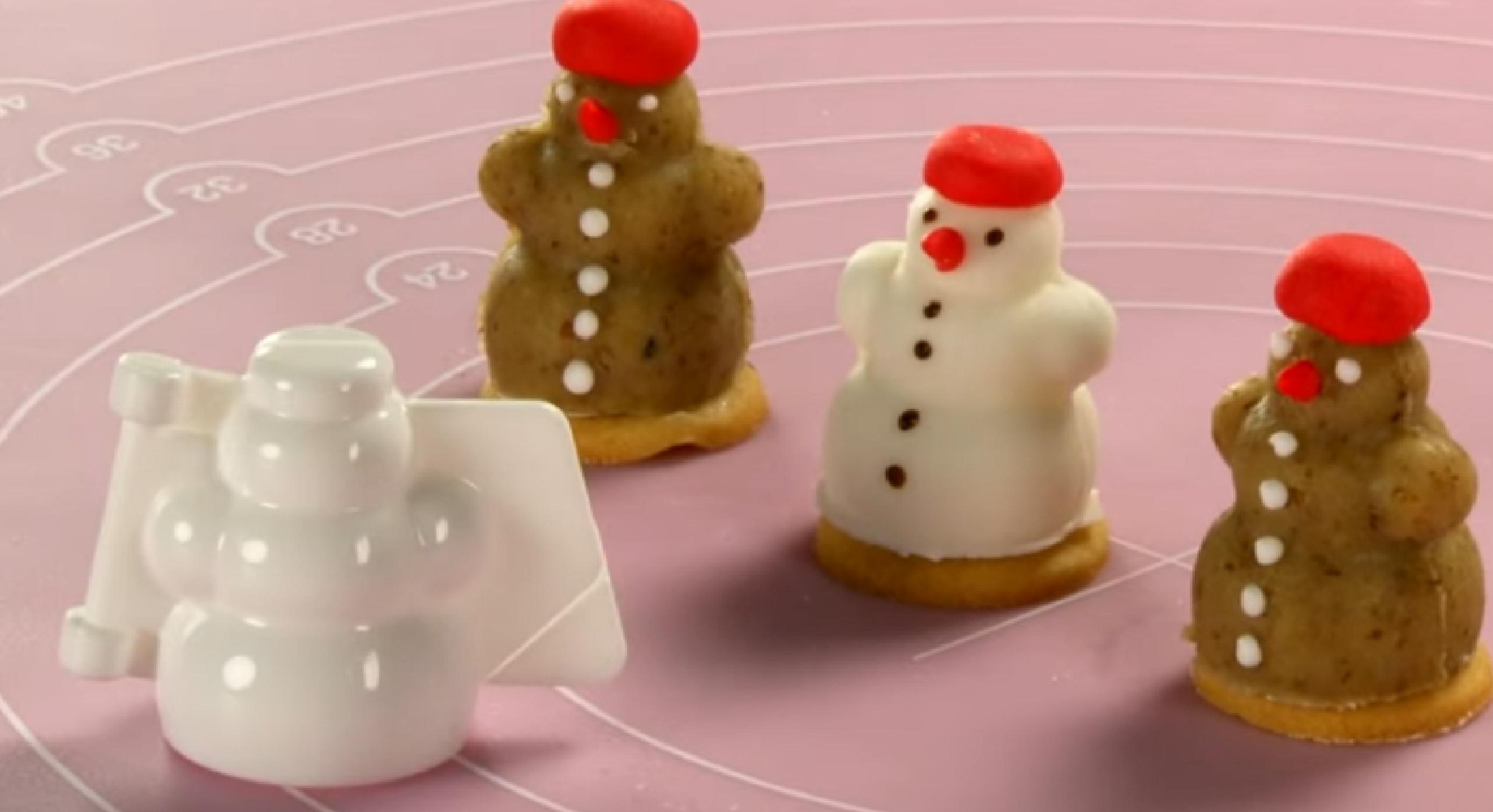 Tescoma Формочки для печенья с начинкой DELICIA 3 рождественских формы 631646