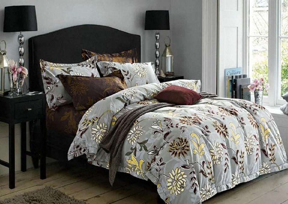 Комплект постельного белья Сатин Вышивка CN013