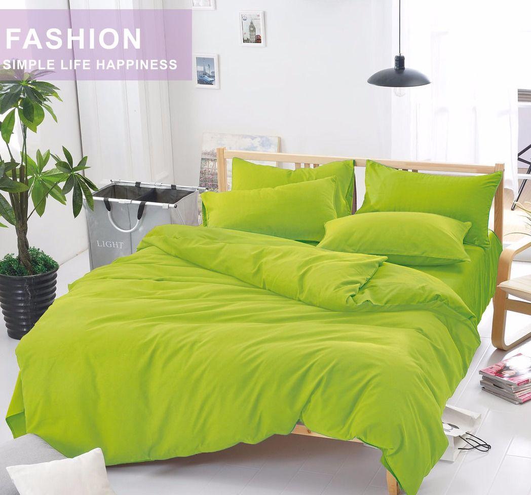 Комплект постельного белья Сатин однотонный CS011