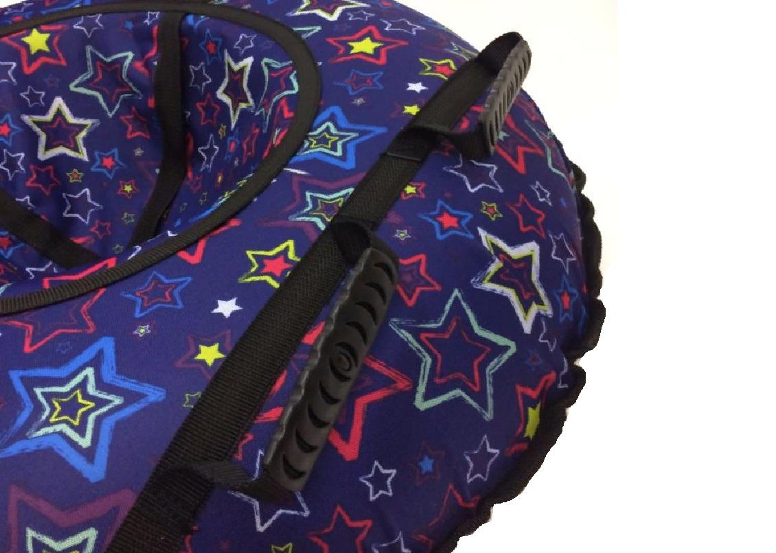 Тюбинг ДИЗ-08 R13 диаметр 80 см Звёзды на синем