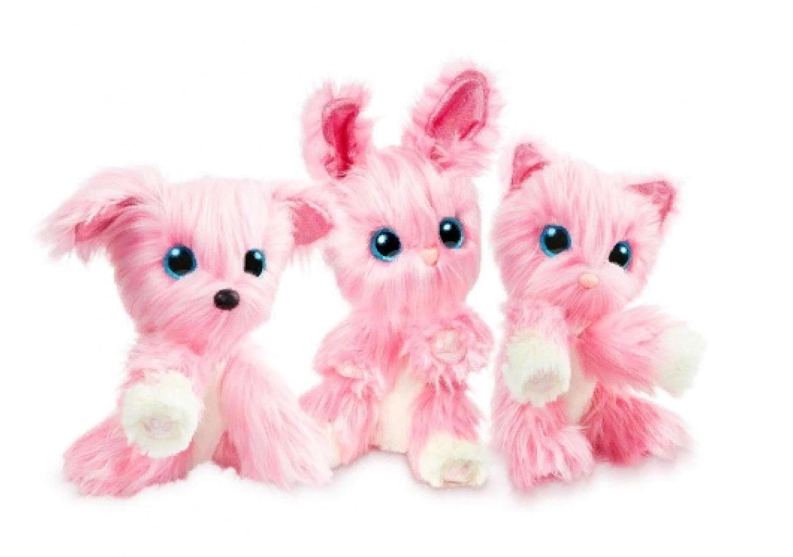 Пушистик-Потеряшка Scruff a Luvs 635SLA01 Розовый