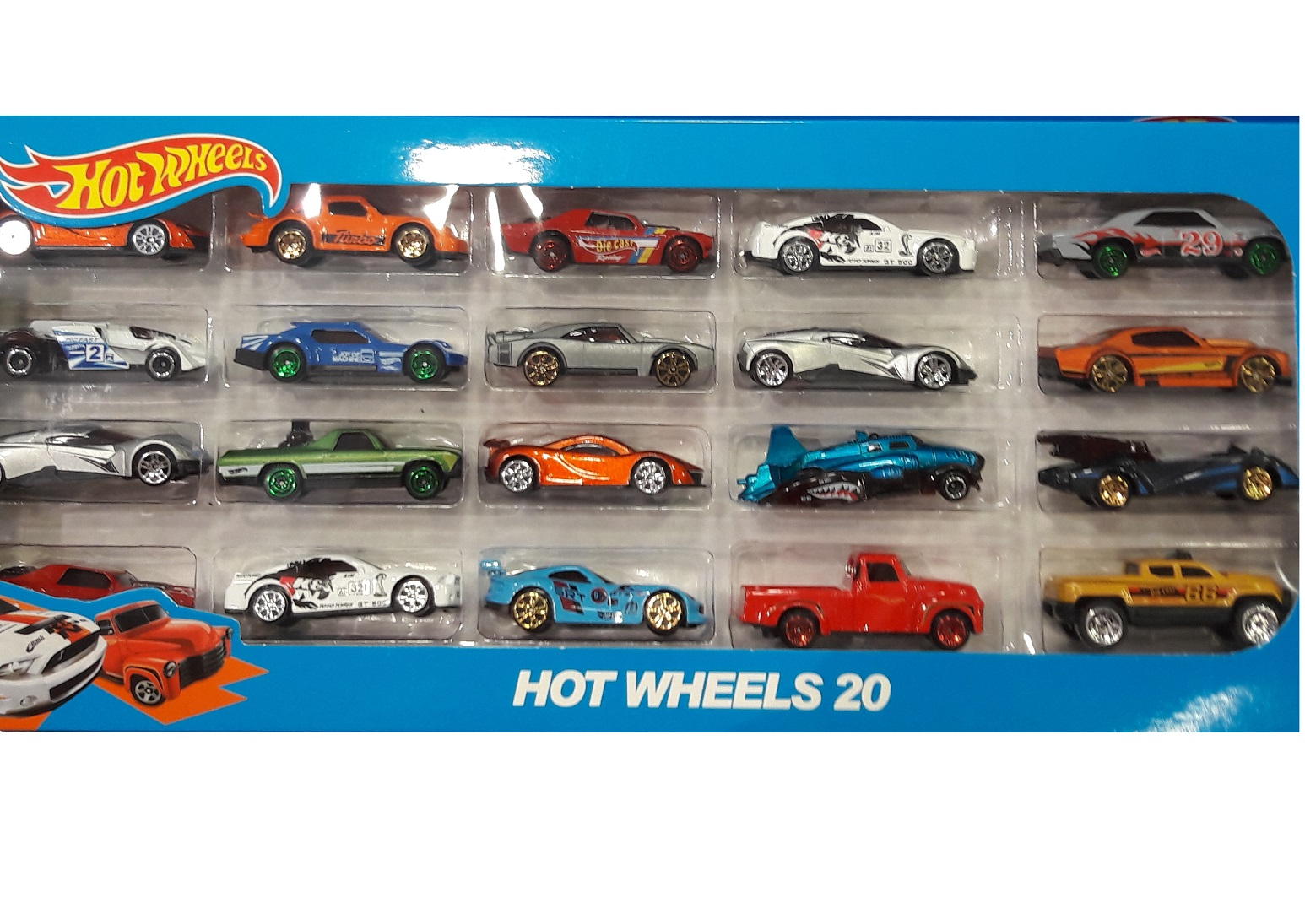 Машинки Hot Wheels (Хот Вилс) 20 шт