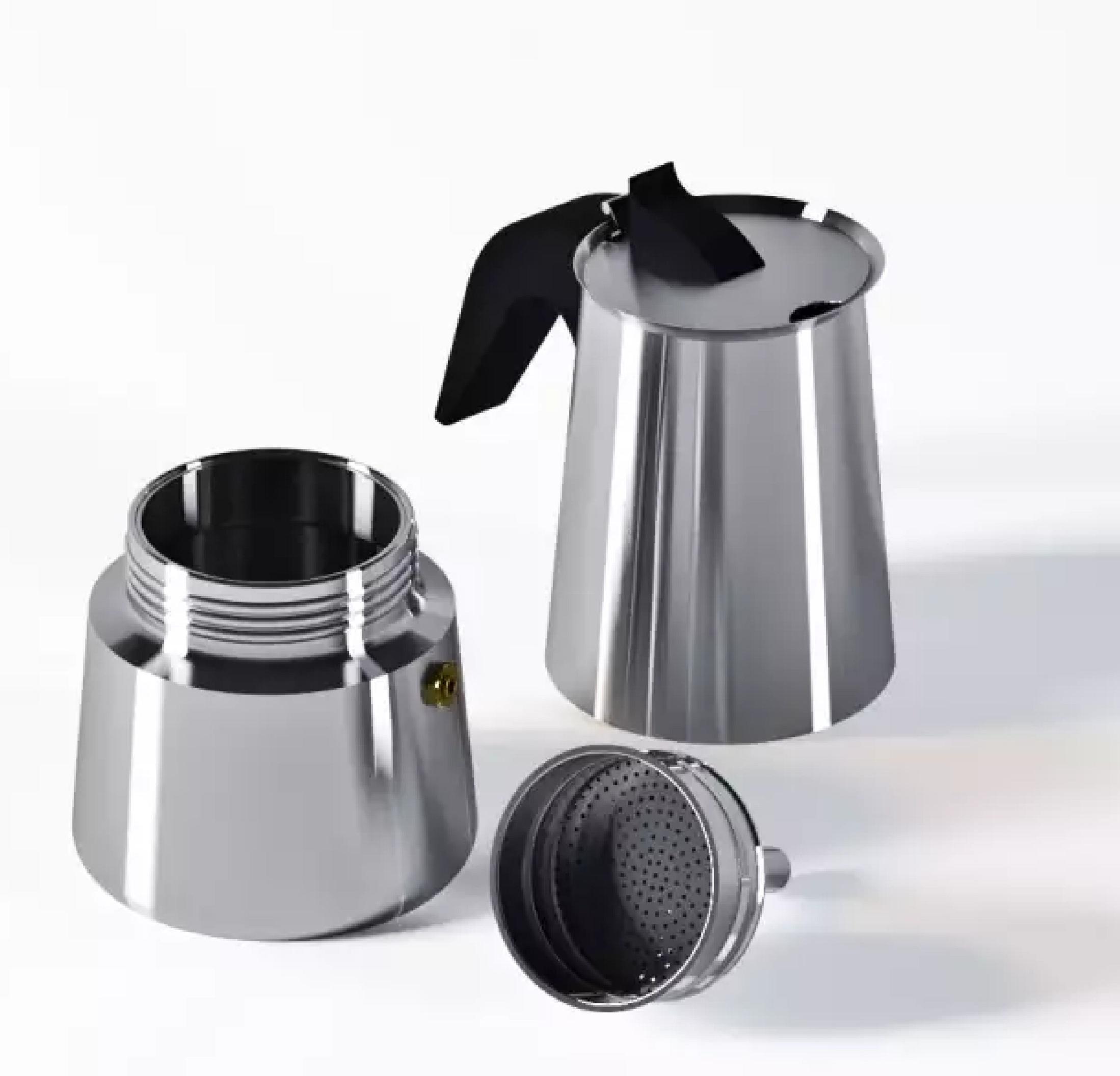 BOHMANN Кофеварка гейзерная на 6 чашек BH 9506