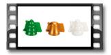Формочки для печенья с начинкой, 3 рождественских формы 631646