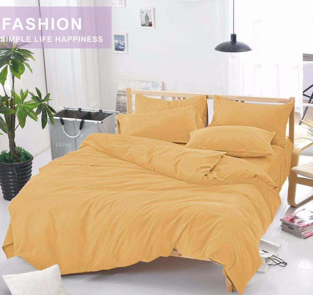 Комплект постельного белья Сатин однотонный CS014