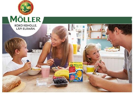 Moller Omega-3 детские витамины рыбки