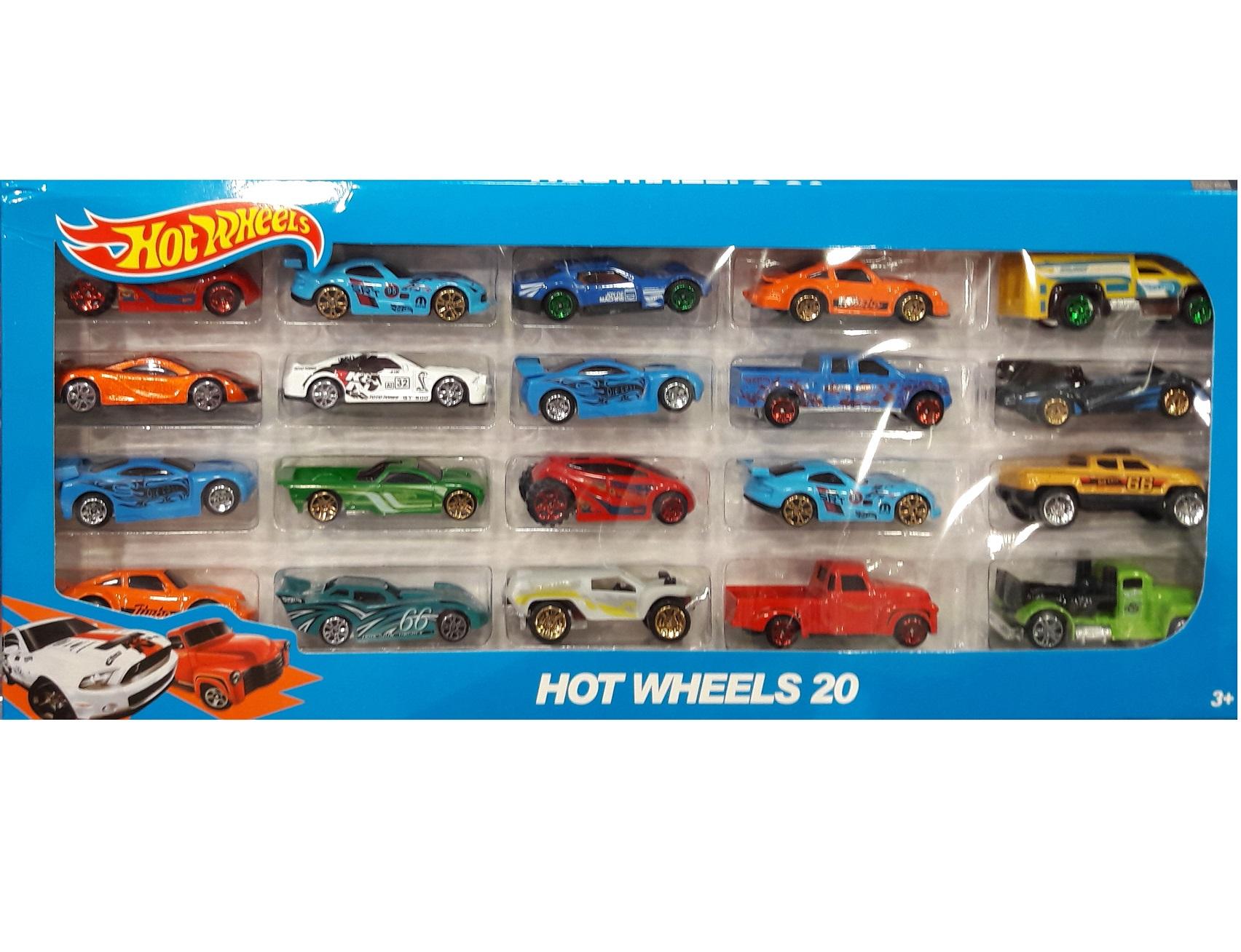 Машинки Hot Wheels (Хот Вилс) 20 шт