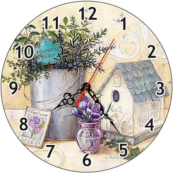 Часы Деревянные ЛАВАНДА ПРОВАНС ЧС-02.11