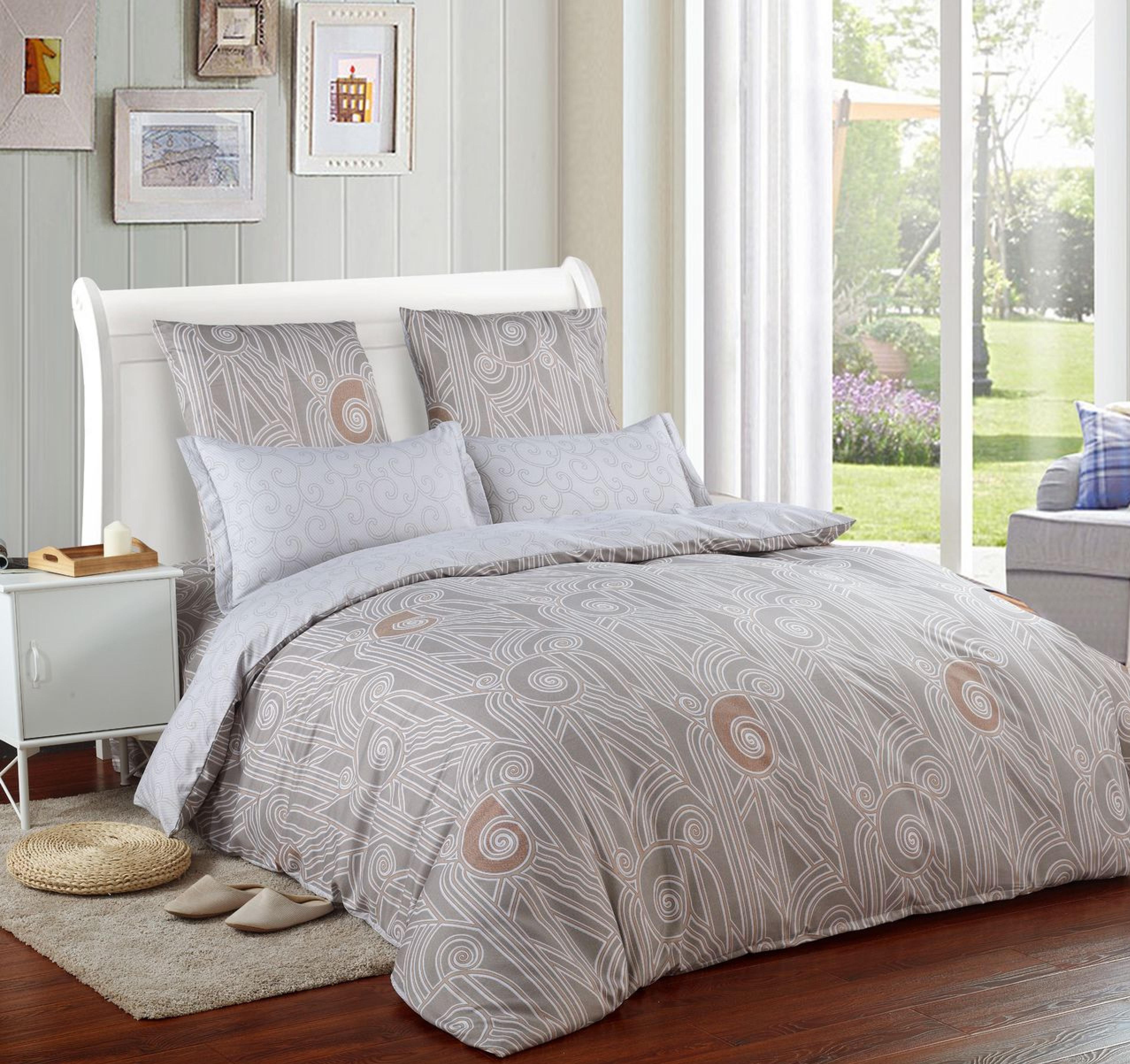 Комплект постельного белья Сатин Вышивка CN025