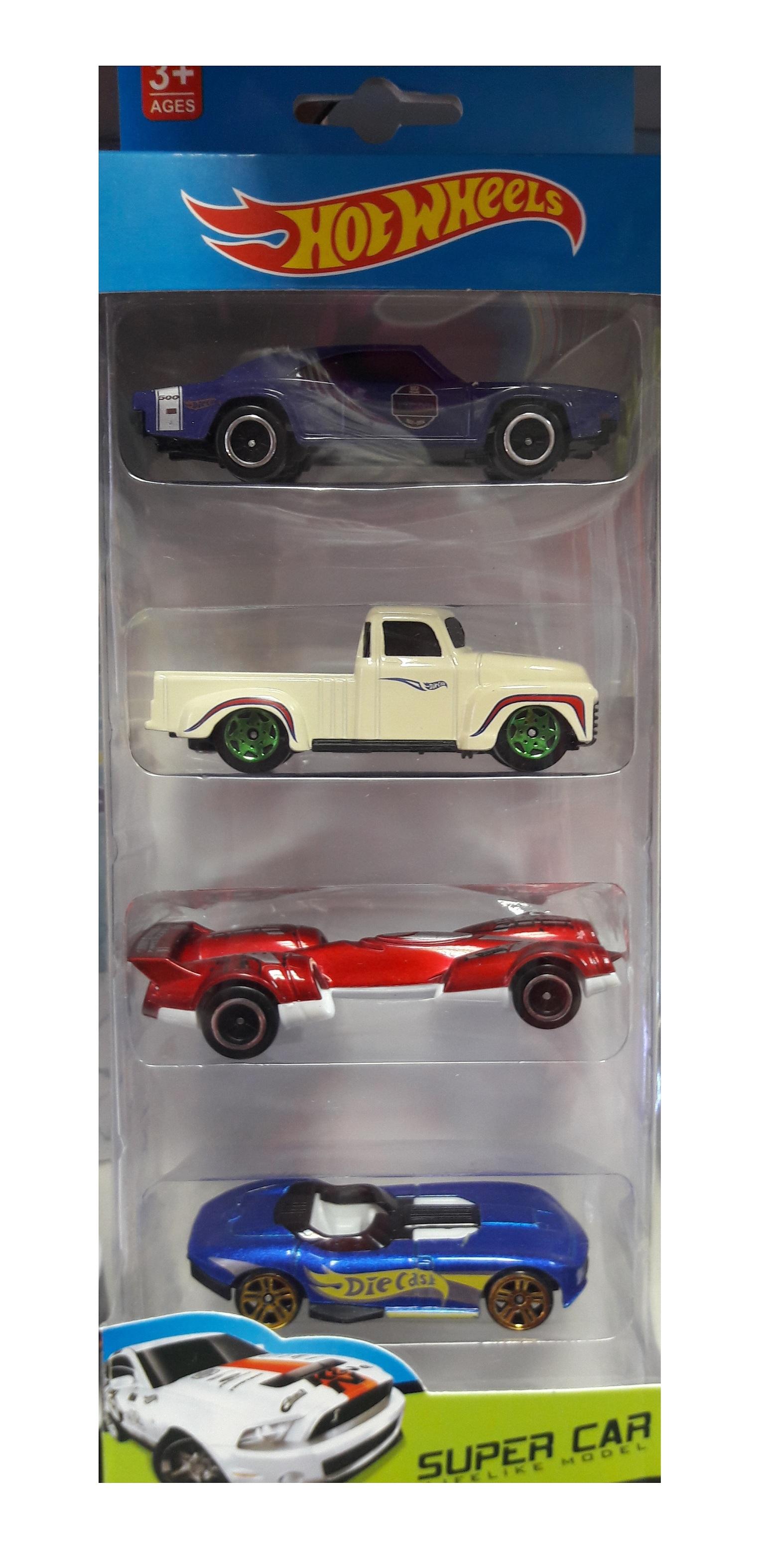 Hot Wheels super car машинки 4 шт